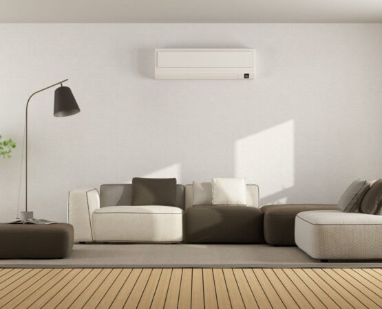 air conditioned living room